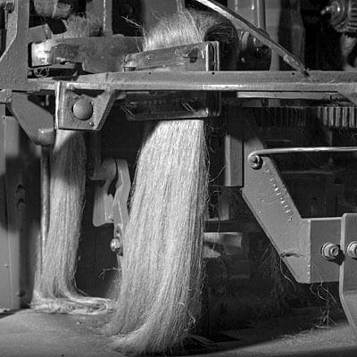Flax hackling process   AB Siulas